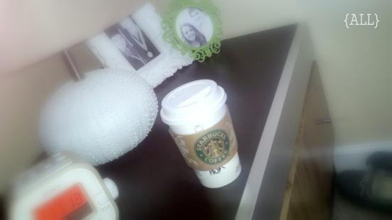 Bedside Starbucks