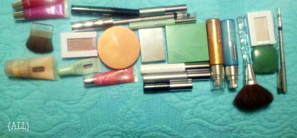 Makeup I rarely use