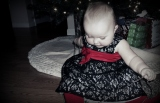 Christmas dress photo shoot.