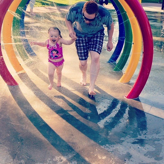 Running Splash Park